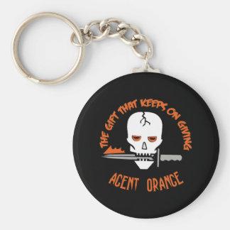 Agent Orange la OSCURIDAD del regalo Llavero Personalizado