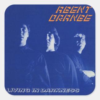 """Agent Orange """"Living In Darkness"""" Stickers Punk"""