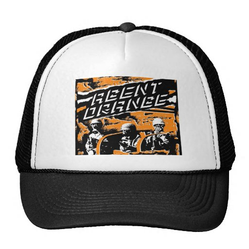 "Agent Orange ""Punk Army"" Skate Hat"
