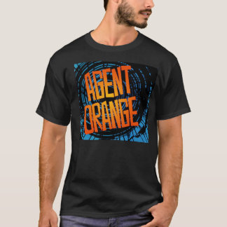 "Agent Orange Punk ""SpinArt"" Logo T-Shirt"