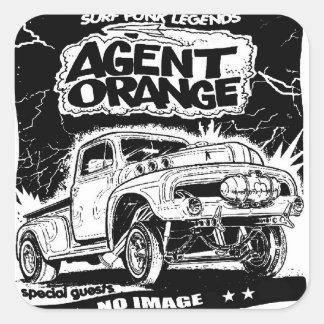 "Agent Orange ""Rat Rod"" Stickers Skate Punk"