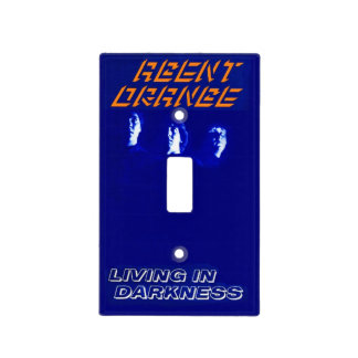 Agent Orange Skate Punk Switchplate Light Switch Cover