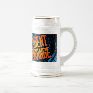 "Agent Orange ""SpinArt"" Beer Stein Skate Punk Rock"