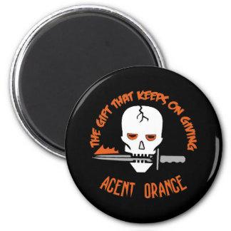 Agent Orange The Gift DARK 2 Inch Round Magnet