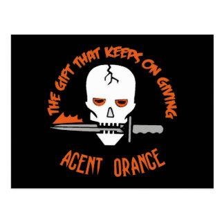 Agent Orange The Gift DARK Postcard