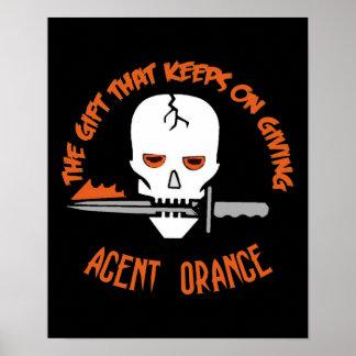 Agent Orange The Gift DARK Poster