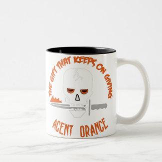 Agent Orange The Gift DARK Two-Tone Coffee Mug