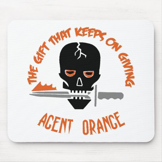 Agent Orange The Gift LIGHT Mouse Pad