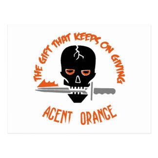 Agent Orange The Gift LIGHT Postcard