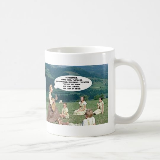 "AGENT ORANGE ""The Hills Are Alive"" Punk Coffee Mug"