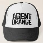 """Agent Orange &quot;Thrashed&quot; Logo Punk Hat Skate<br><div class=""""desc"""">Agent Orange &quot;Thrashed&quot; Logo Skate Punk Trucker Hat.</div>"""