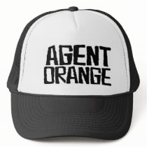 "Agent Orange ""Thrashed"" Logo Punk Hat Skate"