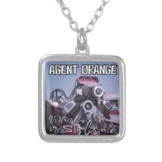 """Agent Orange """"Virtually Indestructible"""" Necklace"""