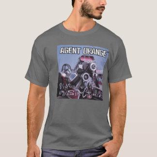 """Agent Orange """"Virtually Indestructible"""" T-Shirt"""