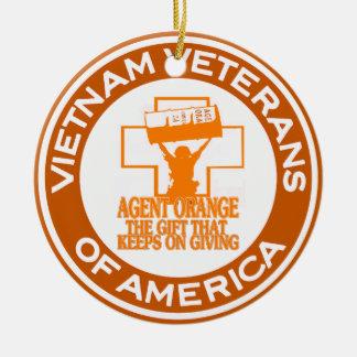 Agent Orange VVA Ceramic Ornament