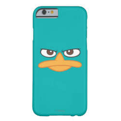 Case-Mate Barely There iPhone 6 Case with Agent P of Phineas and Ferb Face design