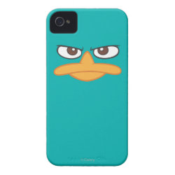 Case-Mate iPhone 4 Barely There Universal Case with Agent P of Phineas and Ferb Face design