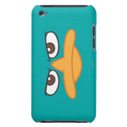Case-Mate iPod Touch Barely There Case with Agent P of Phineas and Ferb Face design