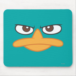 Agent P Face Mouse Pad