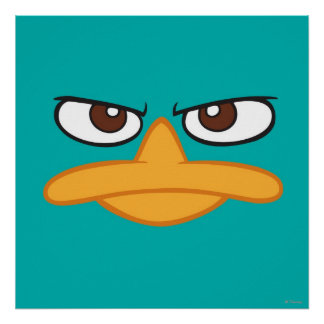 Agent P Face Poster