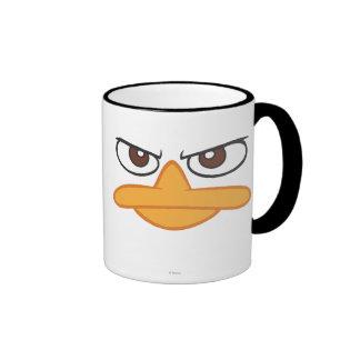 Agent P Face Ringer Mug