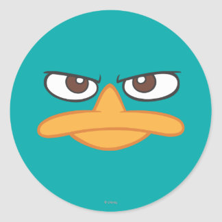 Agent P Face Stickers