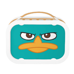 Agent P Face Yubo Lunch Box