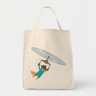 Agent P Flying Tote Bag