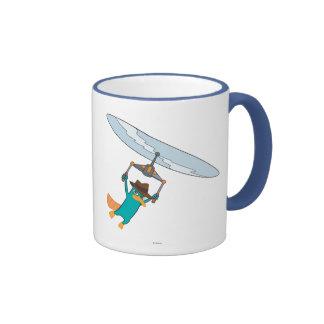 Agent P Flying Coffee Mugs