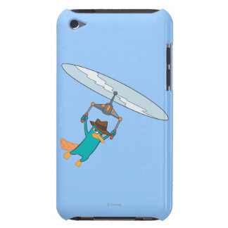 Agent P Flying iPod Touch Case-Mate Case