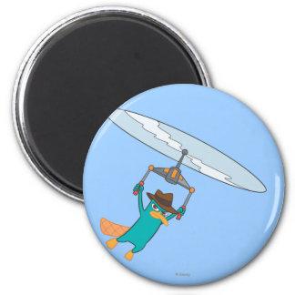 Agent P Flying Magnet