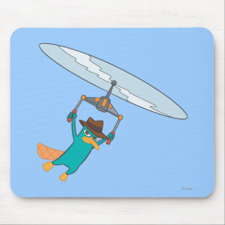 Agent P Flying Mouse Pad