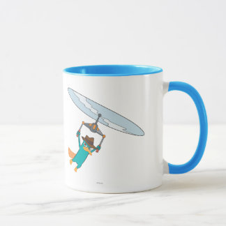 Agent P Flying Mug