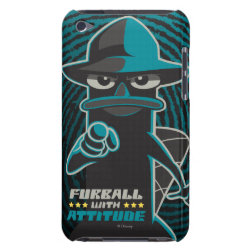 Agent P - Furball with Attitude by Phineas and Ferb Case-Mate iPod Touch Barely There Case