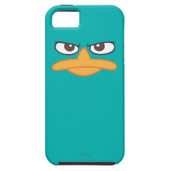 Case-Mate Vibe iPhone 5 Case with Agent P of Phineas and Ferb Face design