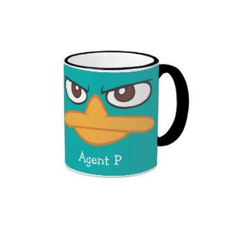 Agent P Ringer Coffee Mug