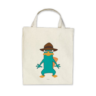 Agent P Pose Canvas Bags