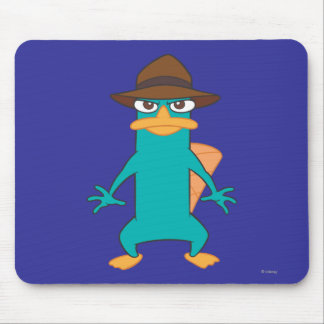 Agent P Pose Mouse Pad