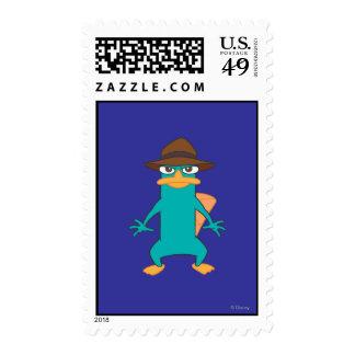 Agent P Pose Postage