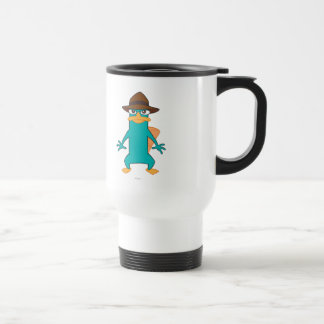 Agent P Pose Travel Mug