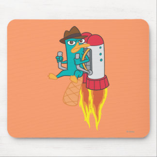 Agent P Rocket Pack Mouse Pad