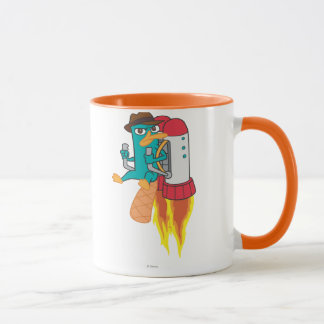 Agent P Rocket Pack Mug