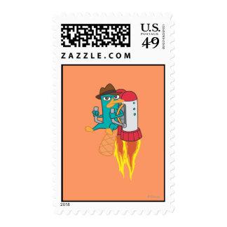 Agent P Rocket Pack Stamp