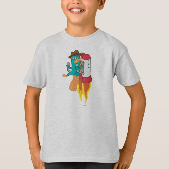 Agent P Rocket Pack T-Shirt