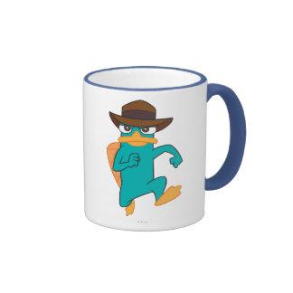 Agent P Running Ringer Mug