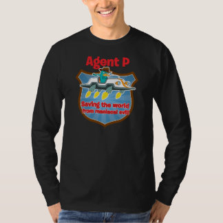 Agent P Saving the world from maniacal evil Car T Shirts