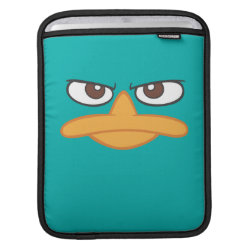 iPad Sleeve with Agent P of Phineas and Ferb Face design