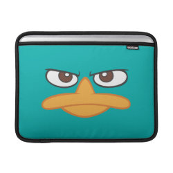 Macbook Air Sleeve with Agent P of Phineas and Ferb Face design