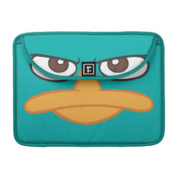 Macbook Pro 13' Flap Sleeve with Agent P of Phineas and Ferb Face design