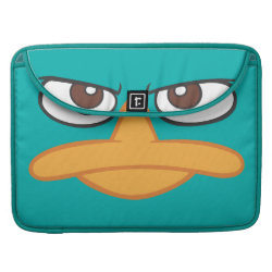 Macbook Pro 15' Flap Sleeve with Agent P of Phineas and Ferb Face design